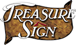 Treasure Sign