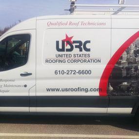 us-roofing-van